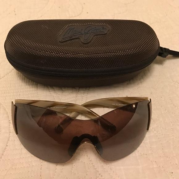 c3c8c65071a Maui Jim Accessories | Price Drop Shield Sunglasses With Case | Poshmark