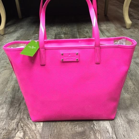 50% off kate spade Handbags - Sale 💋 kate spade hot pink harmony ...