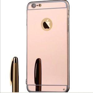Rose Gold Mirror IPhone 6/6Plus Case