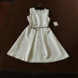 Brand new flared Calvin Klein dress