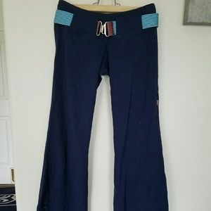 RARE vintage Authentic Lululemon Pants with Belt