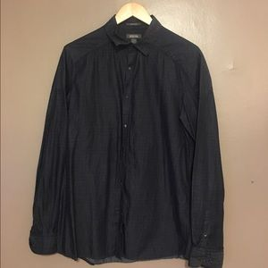 Kenneth Cole Reaction Other - Long sleeve, clasp button dress shirt