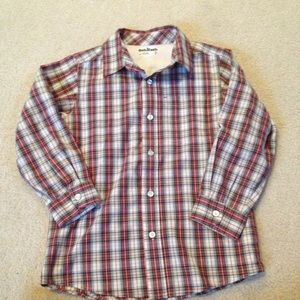 Osh Kosh Other - Final price Red and green boys button down!