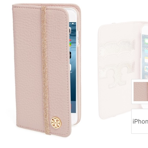 huge discount 82db7 238ff Tory Burch iPhone folio case