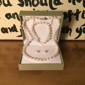 Honora Jewelry - NWOT Honora pearl set