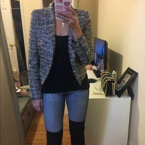 Zara Jackets & Blazers - Beautiful Zara metallic boulce jacket