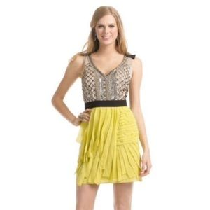 Sachin + Babi Dresses & Skirts - Sachin + Babi Beaded Yellow Black Dress 2