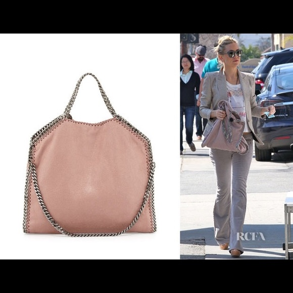 e3173c6926de NEW Stella McCartney Falabella blush silver bag. M 5851e086f092826c3100e8c7
