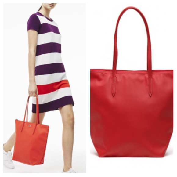Lacoste - ❤️SOLD❤️Lacoste Red Tote Bag from Thess's closet on ...
