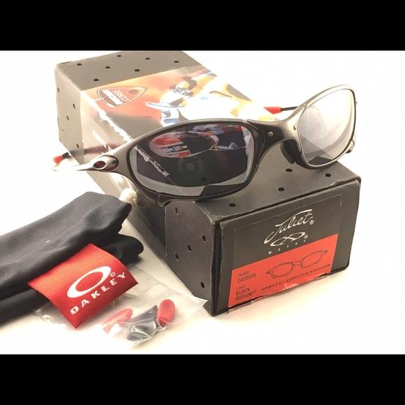 31f2287c0 Vintage Oakley Juliet Ducati Carbon Black 12-673. M_5851e7397fab3a7534009d1c