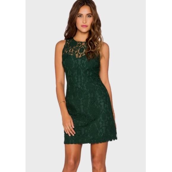 2d19f2868f024 BB Dakota Dresses   Skirts - BB Dakota Green Lace Dress