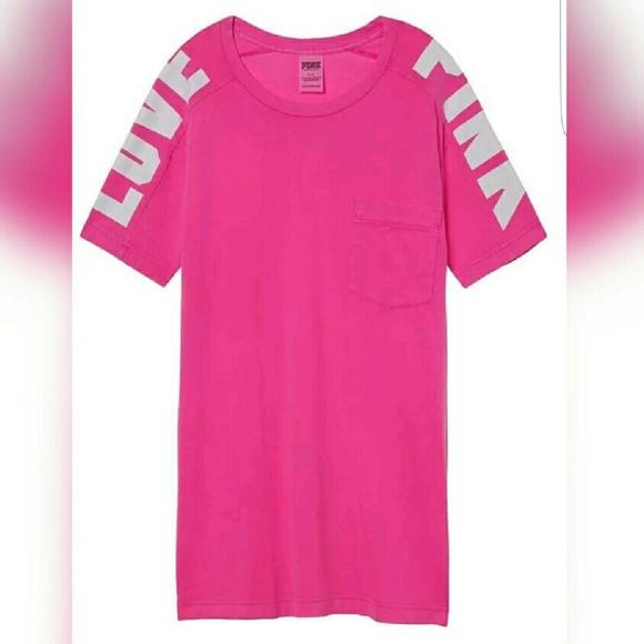 fed8f1fbda3ee 🌸1 Day SALE🌸 Victoria's secret pink shirt Boutique