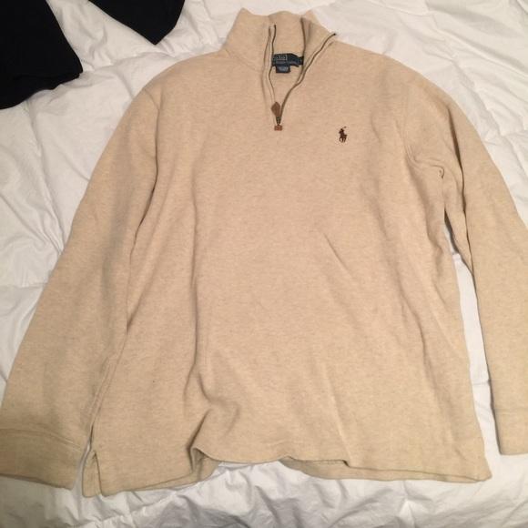 Beige Ralph Lauren Sweater