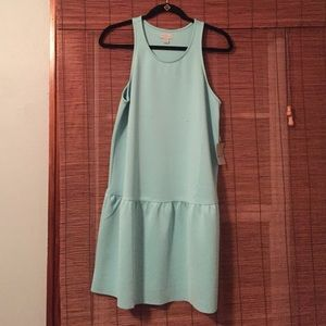 Belle Sky - Sleeveless shift dress