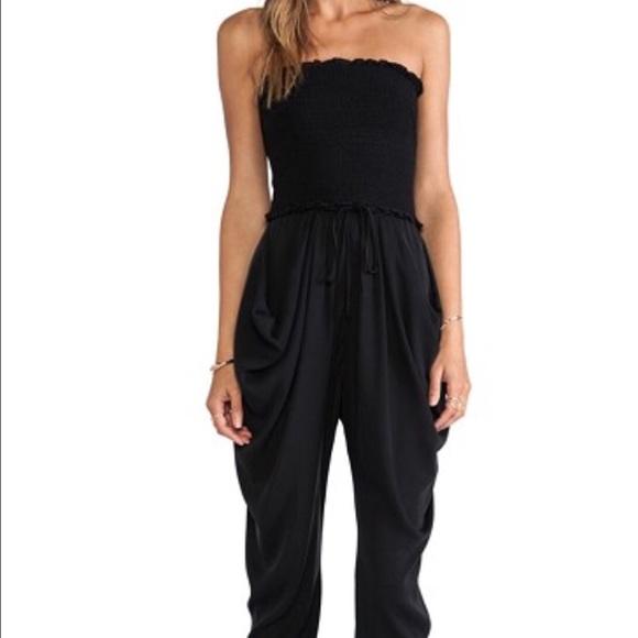 1f0693e9ba0 Catherine Malandrino Pants - Catherine Malandrino Silk Strapless Jumpsuit!