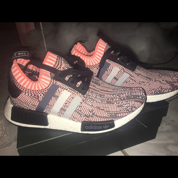 ADIDAS NMD R1 WOMENS RAW PINK (SALMON) - Urban Necessities