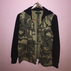 Adorable camo jacket