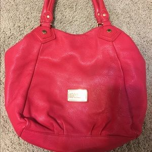 MARC BY MARC JACOBS CLASSIC Q FRANCESCA RED BAG