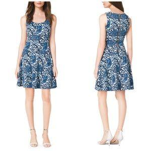 MICHAEL Michael Kors Dresses & Skirts - NWOT Michael Kors Blue Paisley Dress