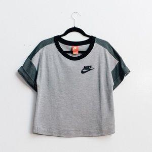 Nike Tops - NIKE SPORTSWEAR RALLY PLUS CROP TEE