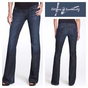 Citizens of Humanity Denim - Citizens of Humanity Belly Panel Dark Maternity