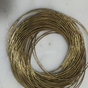 Jewelry - Multi Strand Statement Bracelet in Goldtone