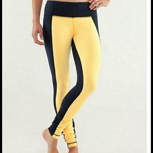 lululemon athletica Pants - NWT Lululemon Wunder Under pant in color block, 8.