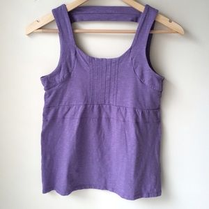 Horny Toad Tops - Horny Toad Yoga Tank Purple Workout Top