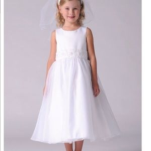 US ANGELS Other - $155 US ANGELS WHITE FLOWER GIRL WEDDING DRESS 7