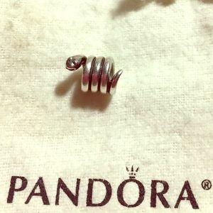 Pandora Jewelry - 🐍PANDORA SILVER GARDEN SNAKE CHARM🐍