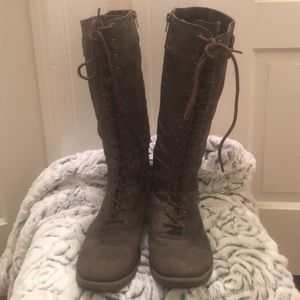 Brown knee high boots size 6.5