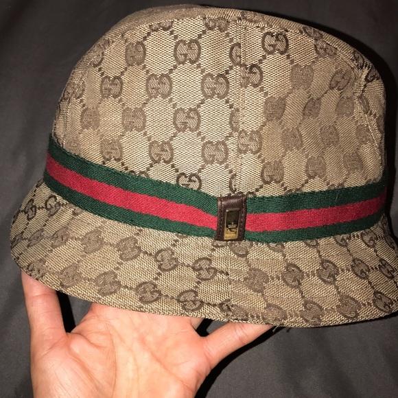 5e0536f3c0516 Gucci Accessories - Gucci Bucket Hat sz Small NWOT