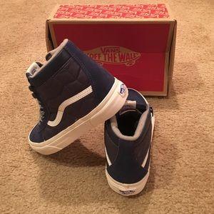 52e2f455c438 Vans Shoes - Vans SK8-Hi MTE CA Mood Indigo Quilted VN000316I2I