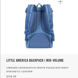 Herschel Supply Company Bags - NWT Herschel Little America Limoges Backpack c17931d7f5f