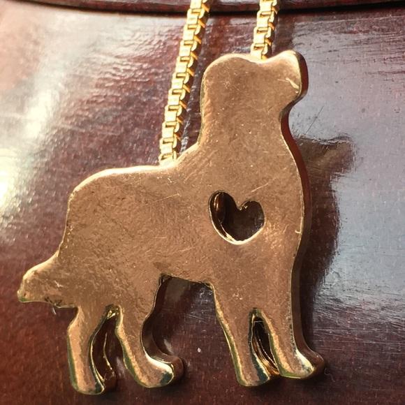 Jewelry Gold Golden Retriever Love Poshmark