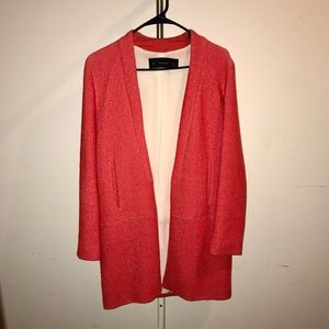 Mandarin Cardigan-Coat