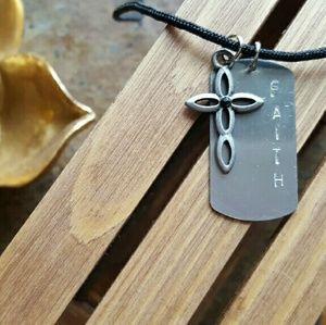 Jewelry - Men's Faith Necklace