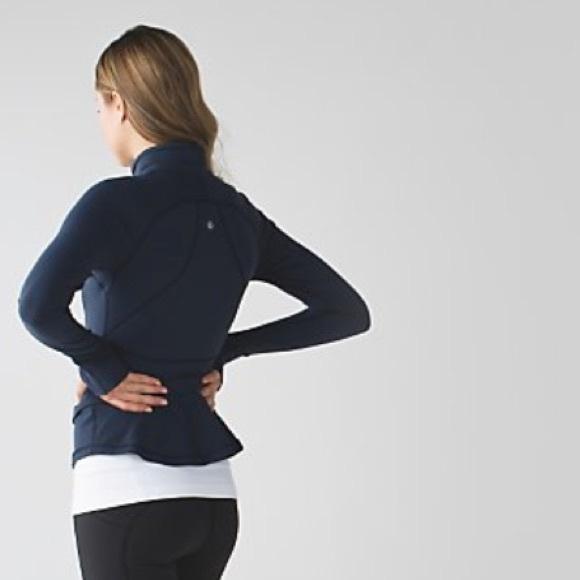 c2eb8f541f lululemon athletica Jackets & Blazers - Lululemon hustle in your bustle  peplum jacket