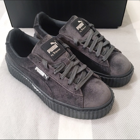 20 Off Puma Shoes Fenty X Puma Rihanna Velvet Cement Creepers From Steph S Closet On Poshmark