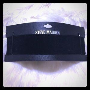 Steve Madden Jewelry - 🛑 1 LEFT STEVE MADDEN Black Velvet Wide Choker