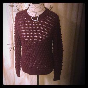 isabel Lu Sweaters - Isabel Lu handmade popcorn sweater NWT