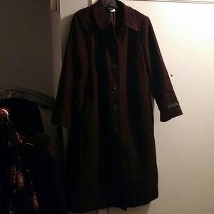 Harve Benard Jackets & Blazers - Brown 100% Pure Wool Coat
