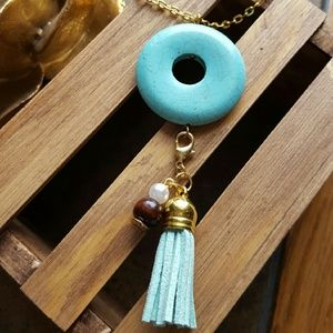 Jewelry - Turquoise & Mint Necklace