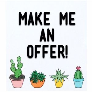 Make me an offer via offer button only! :)