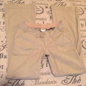 Maternity khaki pants XS