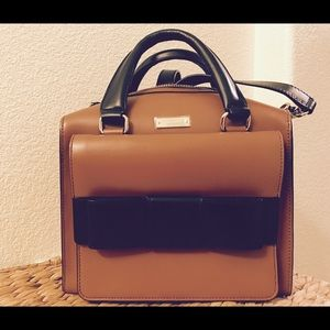 Kate Spade Brown Bow Bridge Kennedy Satchel Bag