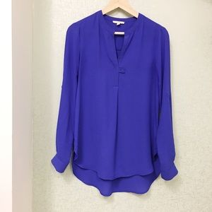 Altar'd State Electric Blue Long sleeve blouse!