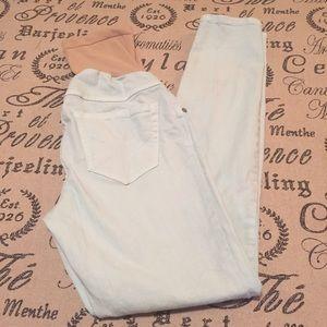 Motherhood Maternity Jeans - Maternity light blue skinny jeans size XS