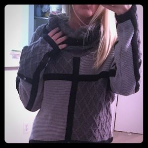 525 america Sweaters - Fabric Block Sweater