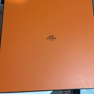 Large Hermes Box and Shopping Bag